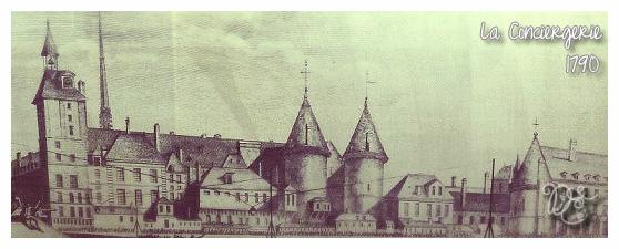 Conciergerie en 1790