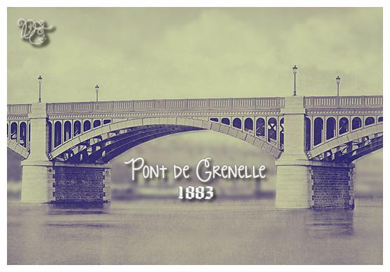 Pont de Grenelle en 1883