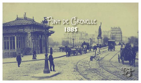 Pont de Grenelle en 1885