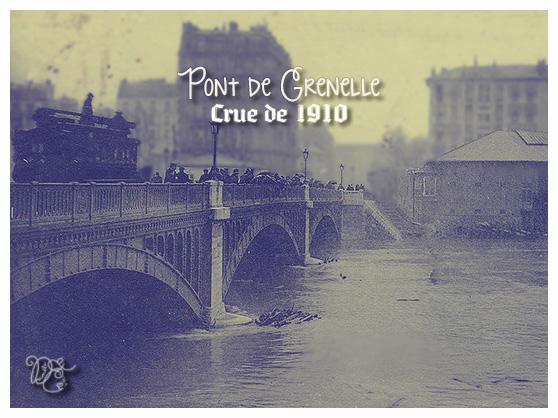 Crue de 1910 Paris