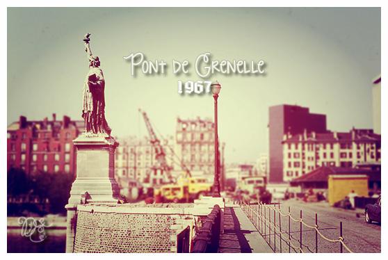 Pont de Grenelle en 1967