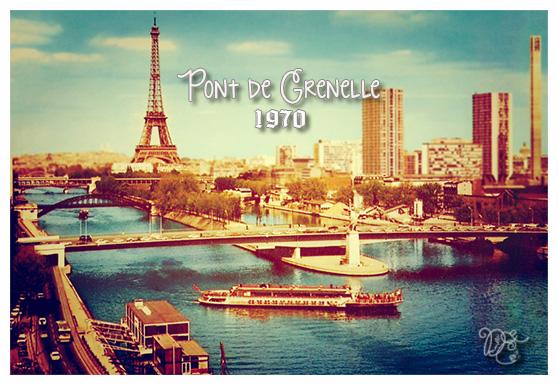 Pont de Grenelle en 1970