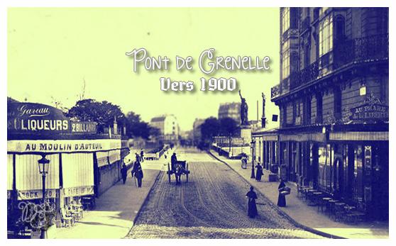 Pont de Grenelle vers 1900
