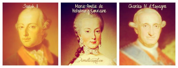 Conjoints des petits enfants de Louis XV.