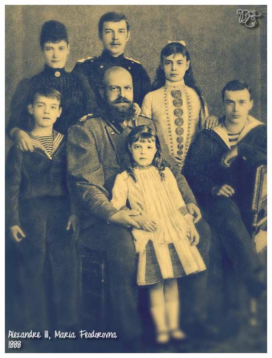 Alexandre III et sa famille