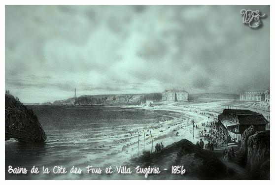 Biarritz en 1856