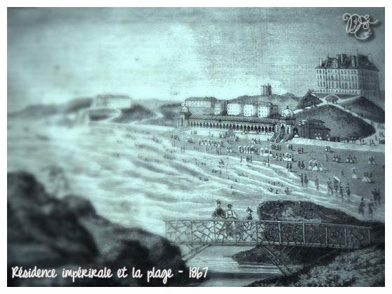 Biarritz en 1867