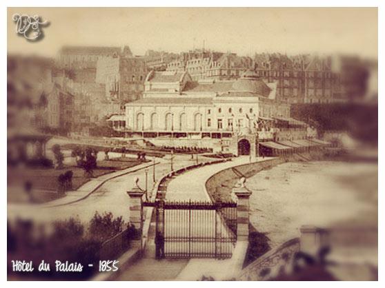 Hôtel du Palais en 1855