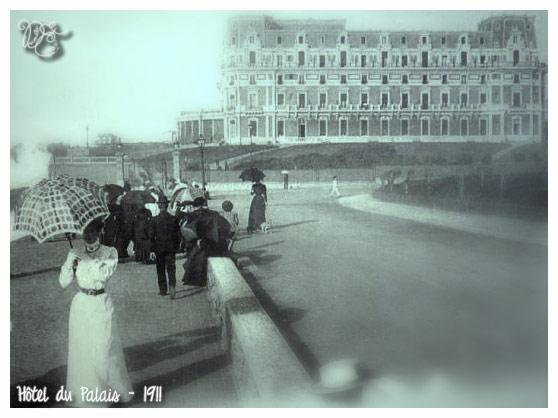 Hôtel du Palais en 1911