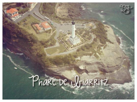 Phare de Biarritz sur le Cap St Martin