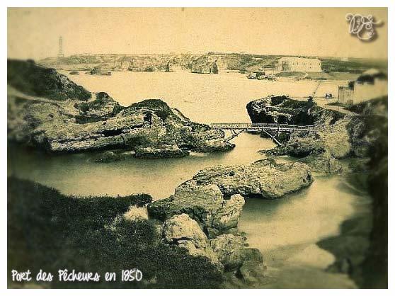 Port des Pêcheurs en 1850