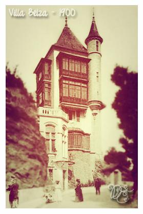 Villa Belza en 1900