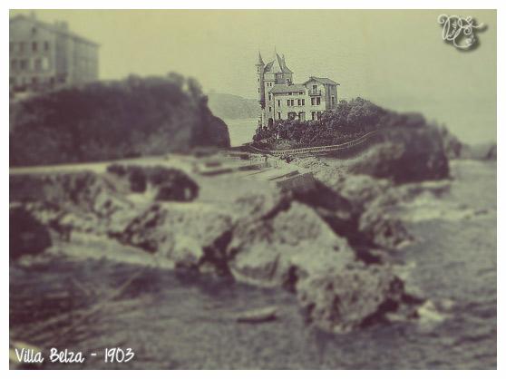 Villa Belza en 1903