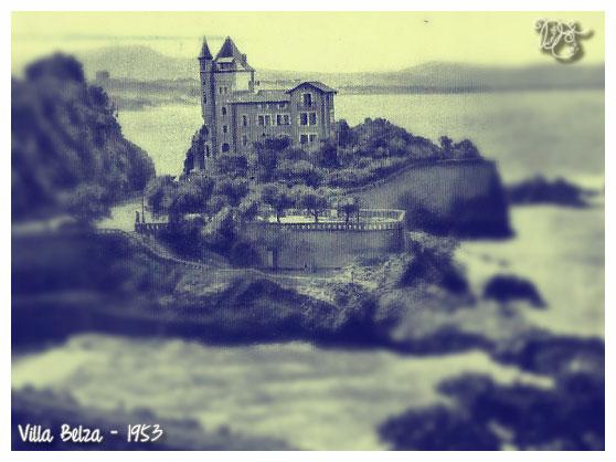 Villa Belza en 1953