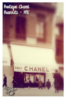 Boutique de Coco Chanel à Biarritz en 1915