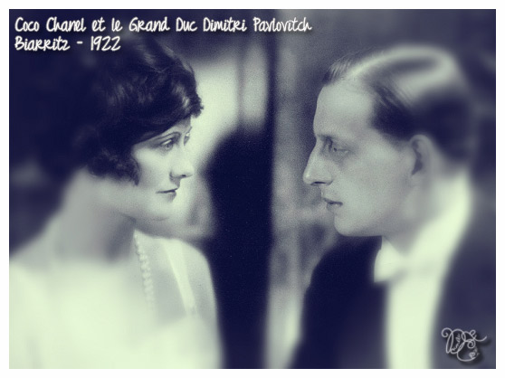 Coco Chanel et Dimitri Pavlovitch en 1922
