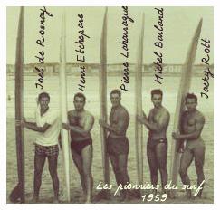 Pionniers du surf