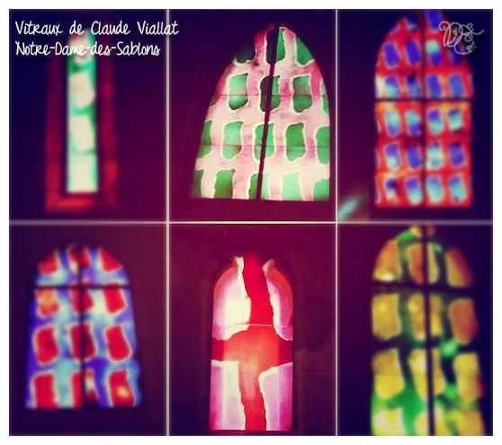 Notre-Dame des Sablons vitraux