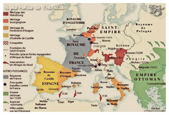 Situation au XVIe siècle