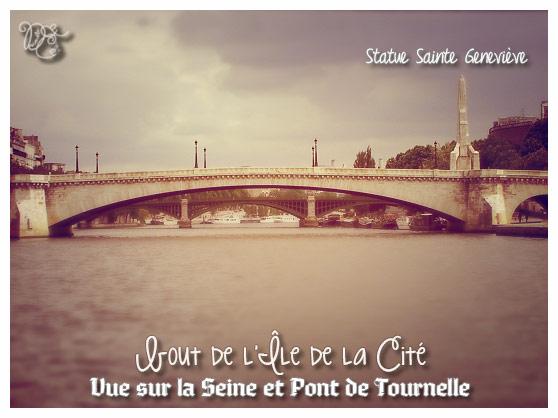 Bout de l'Île de la Cité