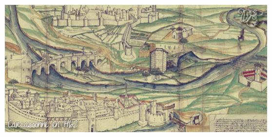 Carcassonne en 1462