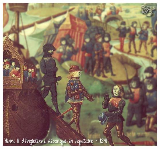 Henri III d'Angleterre débarque en Aquitaine