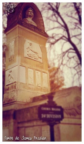Tombe de James Pradier