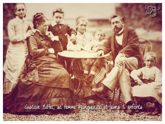 Gustave Eiffel en famille