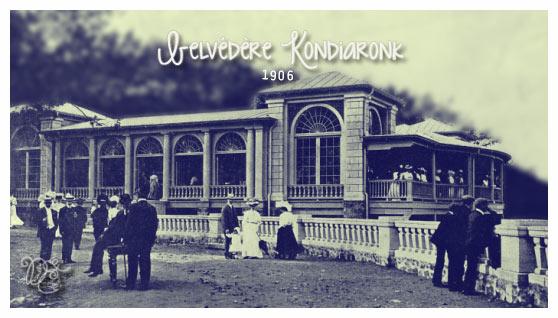Belvédère Kondiaronk en 1906