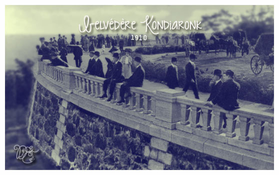 Belvédère Kondiaronk en 1910