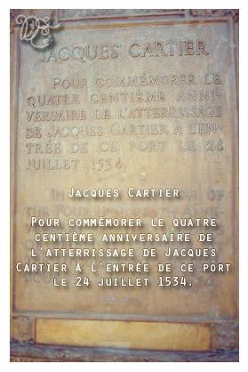 Explication de la croix de Jacques Cartier