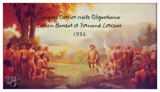 Jacques Cartier visite l'Agouhana par Lucien Boudot et Fernand Cerceau