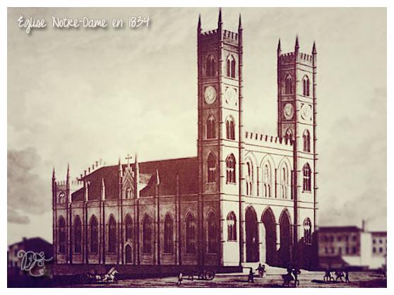 Notre-Dame en 1834