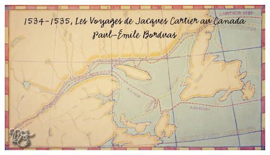 Les voyages de Jacques Cartier par Paul-Émile Borduas