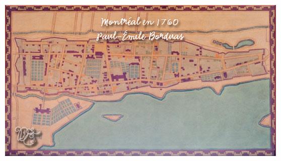 Montréal en 1760 par Paul-Émile Borduas