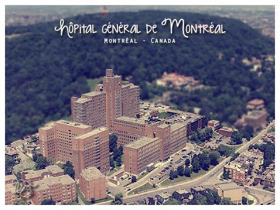 Hôpital général de Montréal, Canada