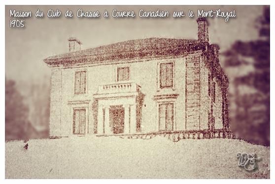 Maison du Club de Chasse à Courre Canadien en 1905, Montréal