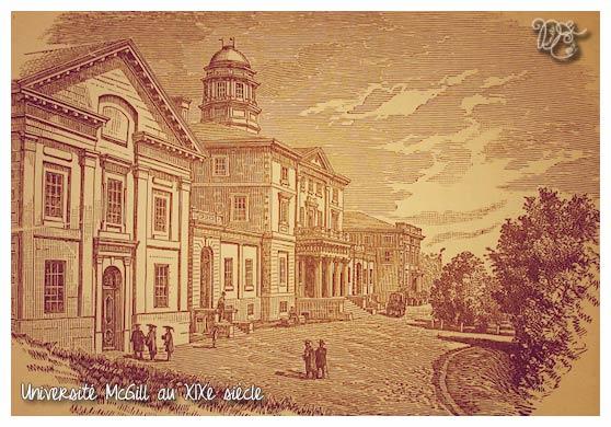 Université McGill au XIXe, Montréal