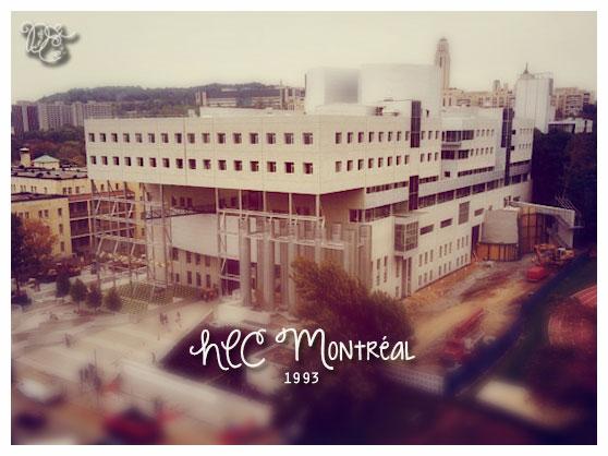 HEC Montreal en 1993