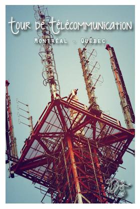 Tour de télécommunication, Montréal