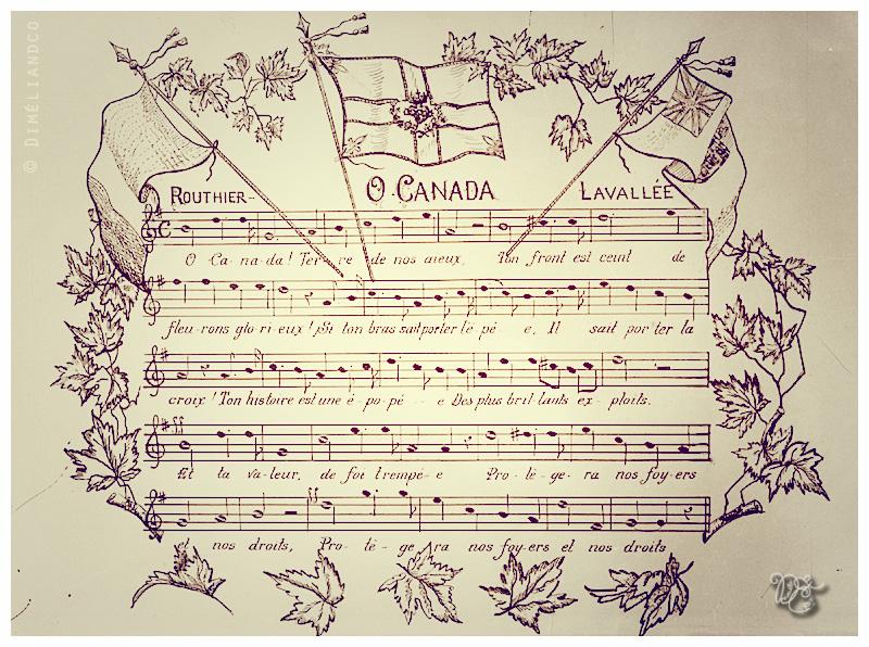 Partition de l'hymne du Canada