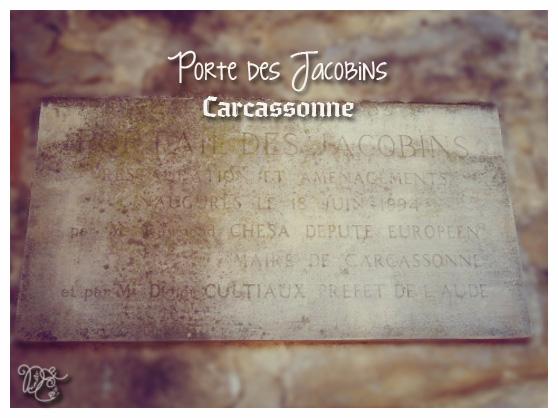 Porte des Jacobins, Carcassonne
