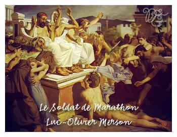 Le Soldat de Marathon par Luc-Olivier Merson