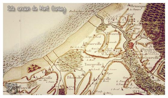 Carte du mont Canisy