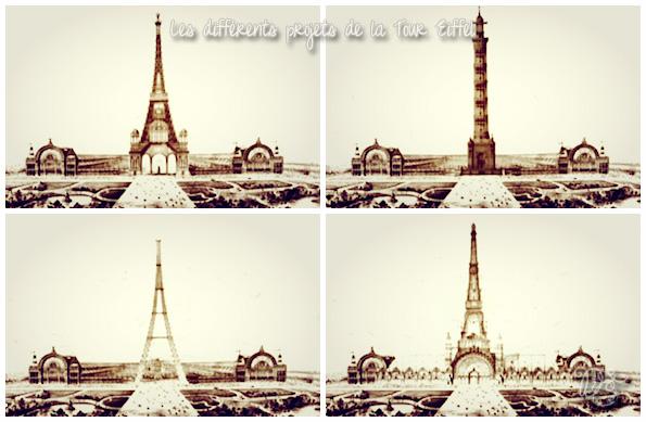 Projets de la Tour Eiffel